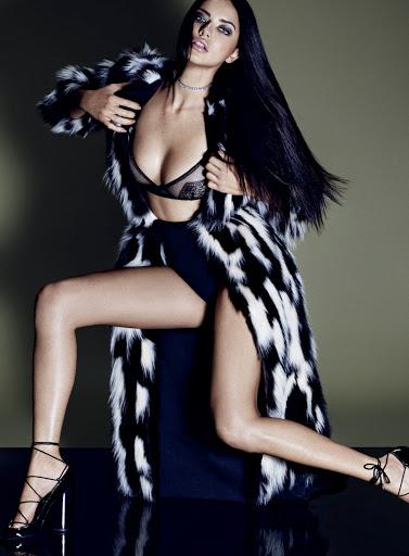 Adriana Lima ELLE US Magazine October 2015 photo shoot