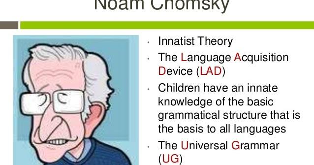 innatist theory by noam chomsky