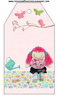 Cloth Dolls Free Printable Tags.