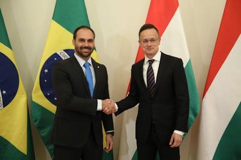 Szijjártó: új alapokra helyezik a magyar-brazil kapcsolatokat