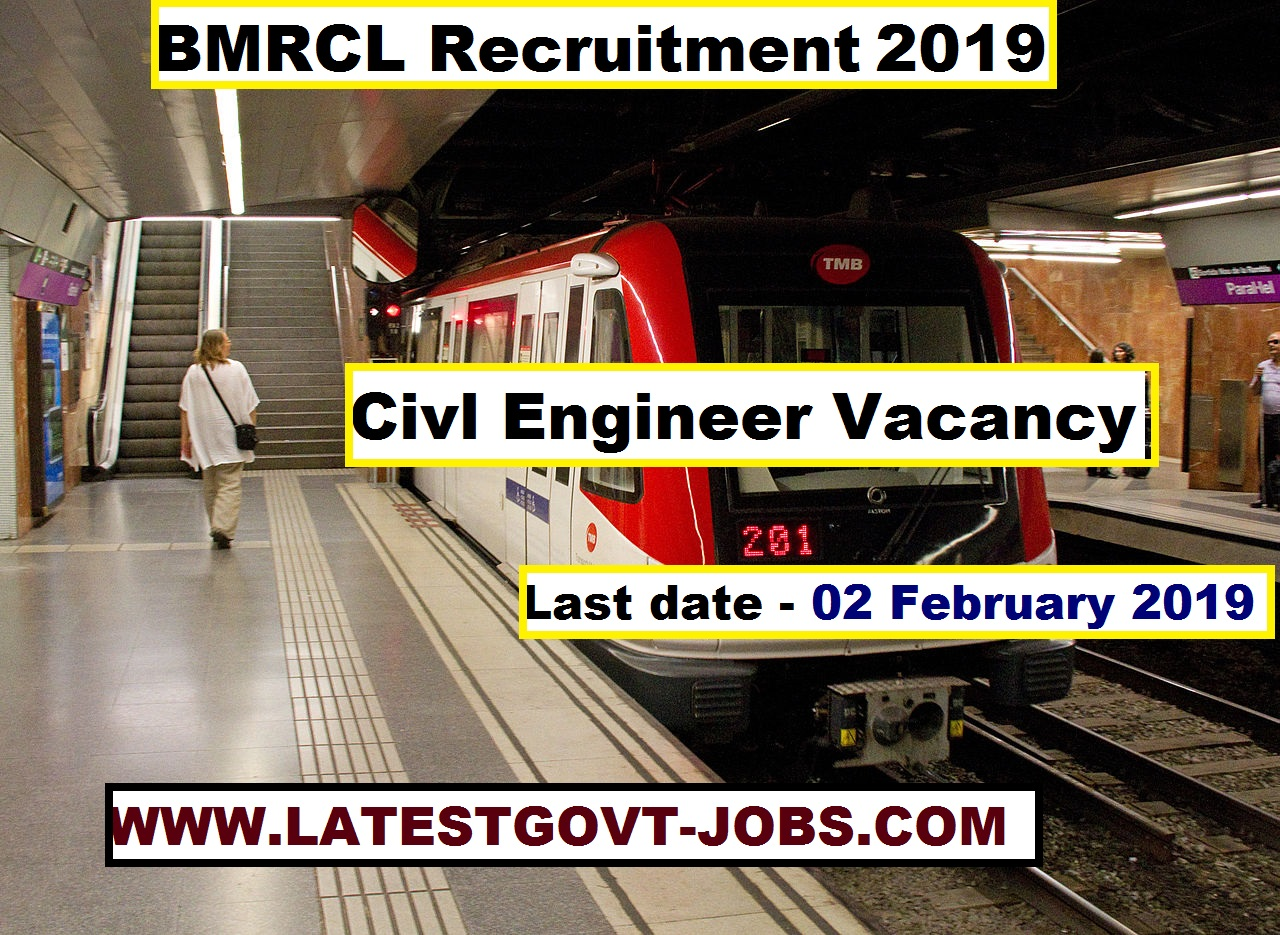 Civil Engineer Vacancy in BMRC - Section, Junior Engineer - Apply Online