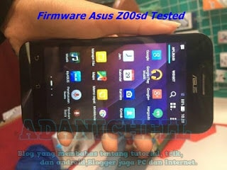 Firmware Asus Z00sd Tested