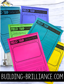 Looking for a way to save your sanity on field trips? Check out this blog post! Filled with ideas to plan, organize, and stay sane on field trips with elementary students. Includes a list of field trip ideas, organizational tips, and more! #FieldTrip #TeachersPayTeachers #ClassroomOrganization