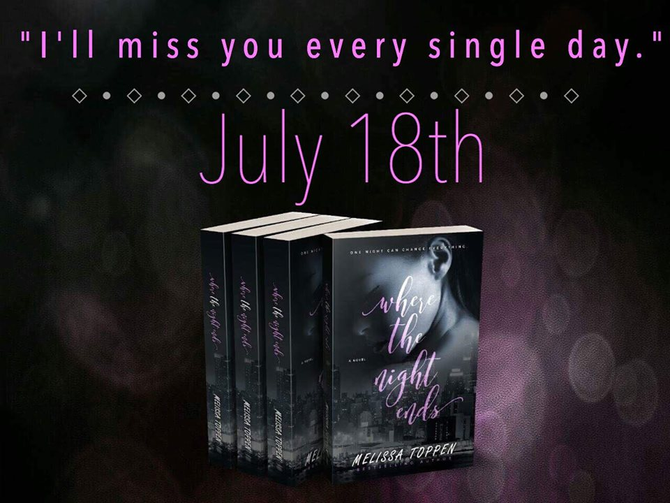 Preorder Where The Night Ends By Melissa Toppen Quesarasera Book Blog