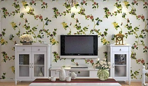 Contoh Desain Gambar Wallpaper Dinding Ruang Tamu Kamar Tidur Dapur Situsbangunan Com