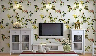 Contoh Model Desain Contoh Wallpaper Dinding Rumah Minimalis Dapur Ruang Tamu Terbaru