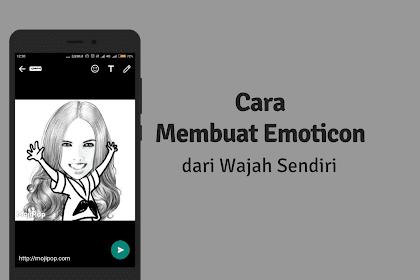 Cara Membuat Emoticon Wajah Sendiri di Android dengan Mojipop