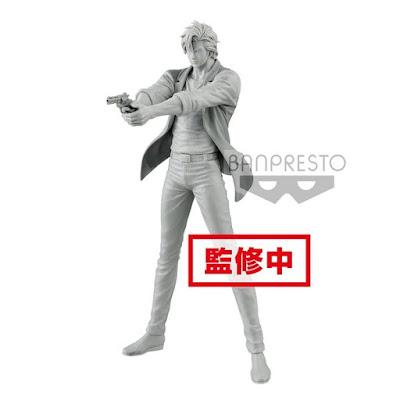 """Figuras: Imagen del prototipo de Ryo Saeba y Kaori Makimura de """"City Hunter"""" - Banpresto"""