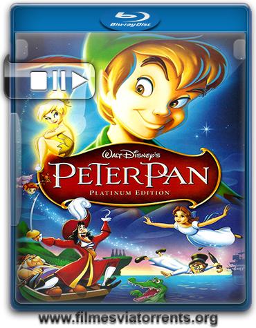 As Aventuras de Peter Pan Torrent - BluRay Rip 720p e 1080p Dual Áudio 5.1 (1953)
