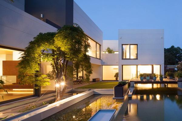 model rumah minimalis model desain villa mewah
