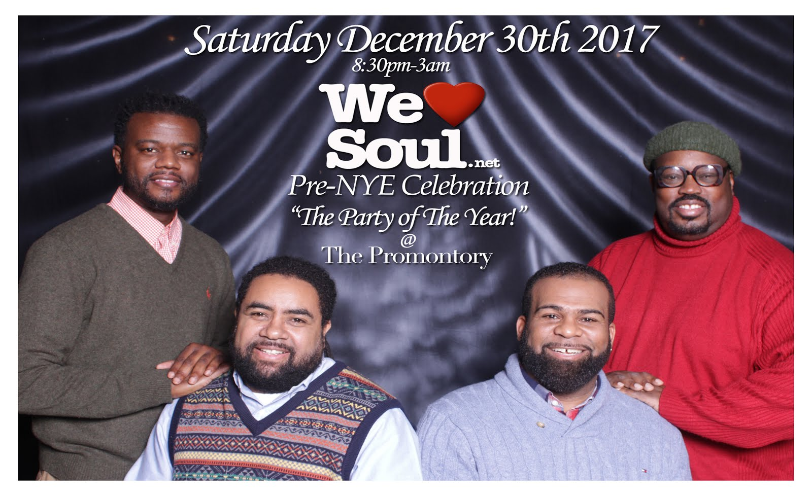 "Sat 12/30: WLS Pre NYE Celebration ""The Party of The Year"" @ The Promontory"