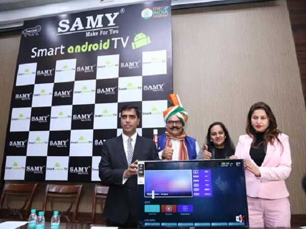 32-inch Smart Android TV at just Rs. 4,999 Samy Electronics introduces under Make in India campaign