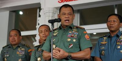 Panglima TNI Sebut Ada Upaya Adu Domba antar Umat Beragama