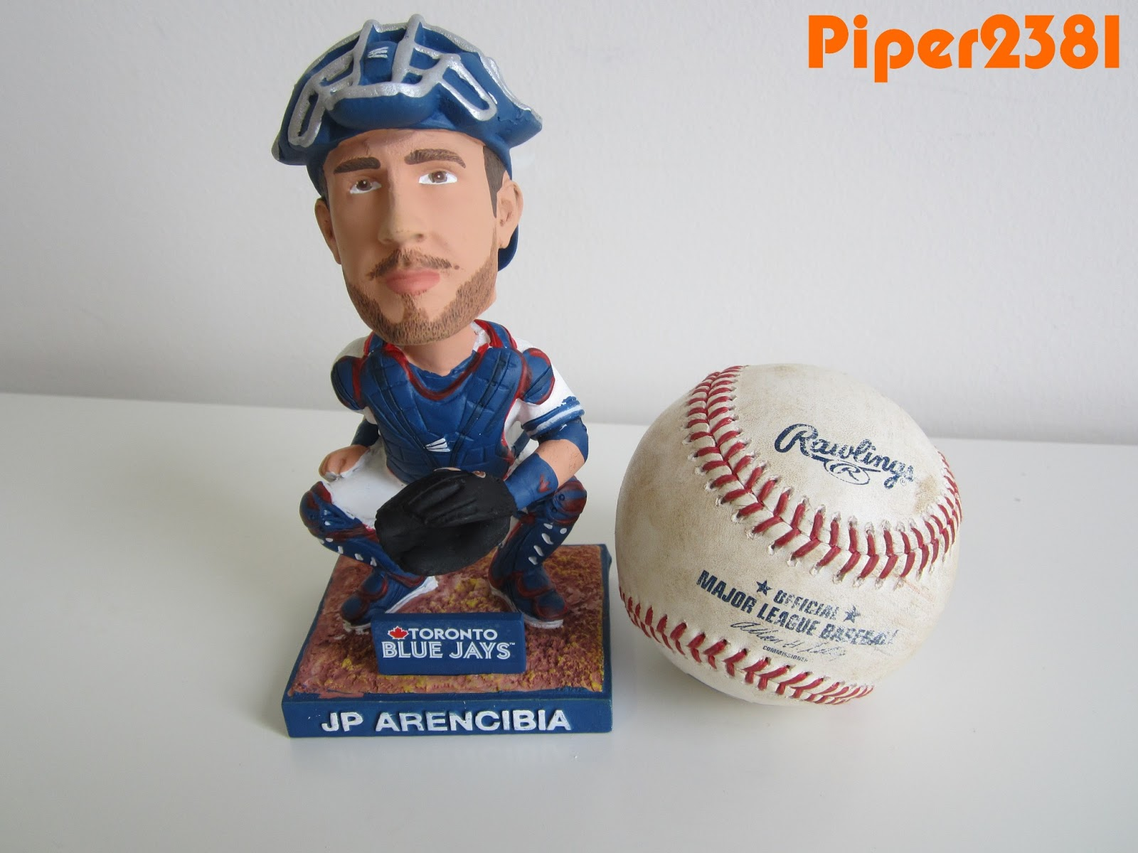 a87a3e4316a The JP Arencibia bobblehead was a free giveaway at Rogers Centre on Sunday
