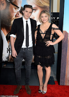 Brooklyn Beckham and Chloe Moretz made their red carpet debut on Monday