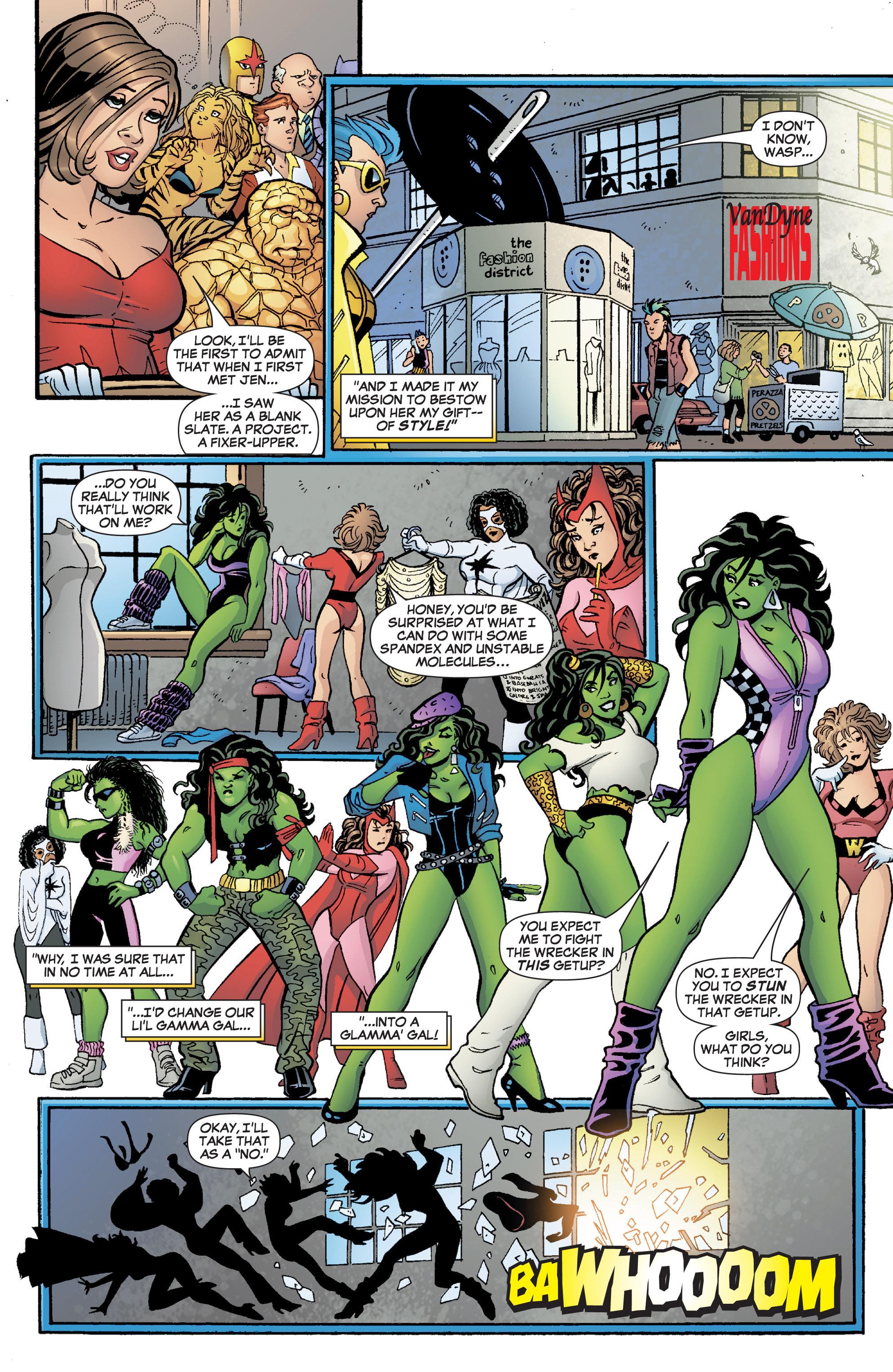 Read online She-Hulk (2005) comic -  Issue #3 - 14