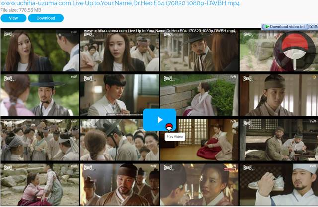 Screenshots Drama Korea Live Up to Your Name, Dr Heo aka Myeongbulheojeon aka Deserving of the Name aka 명불허전 (2017) Episode 04 1080p 720p 480p 360p Subtitle English Indonesia MP4