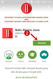 Aplikasi Android untuk Mengubah Tulisan Latin Menjadi Aksara Jawa dan Sebaliknya