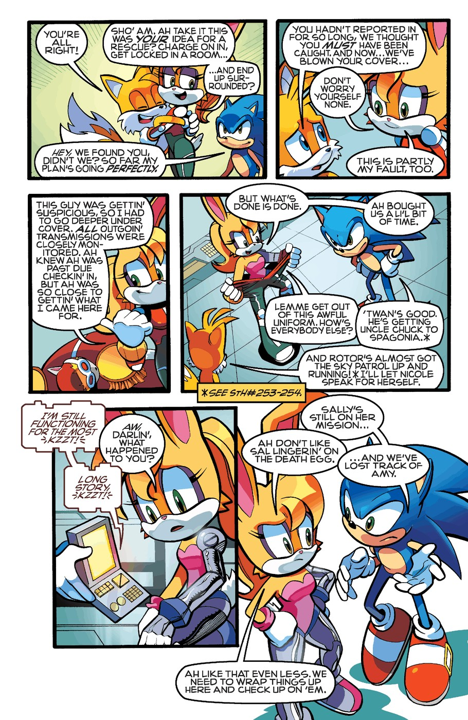 Read online Sonic The Hedgehog comic -  Issue #255 - 9