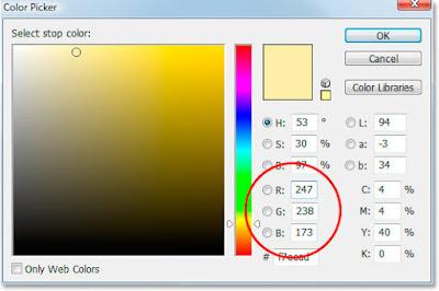 cara membuat warna emas di photoshop