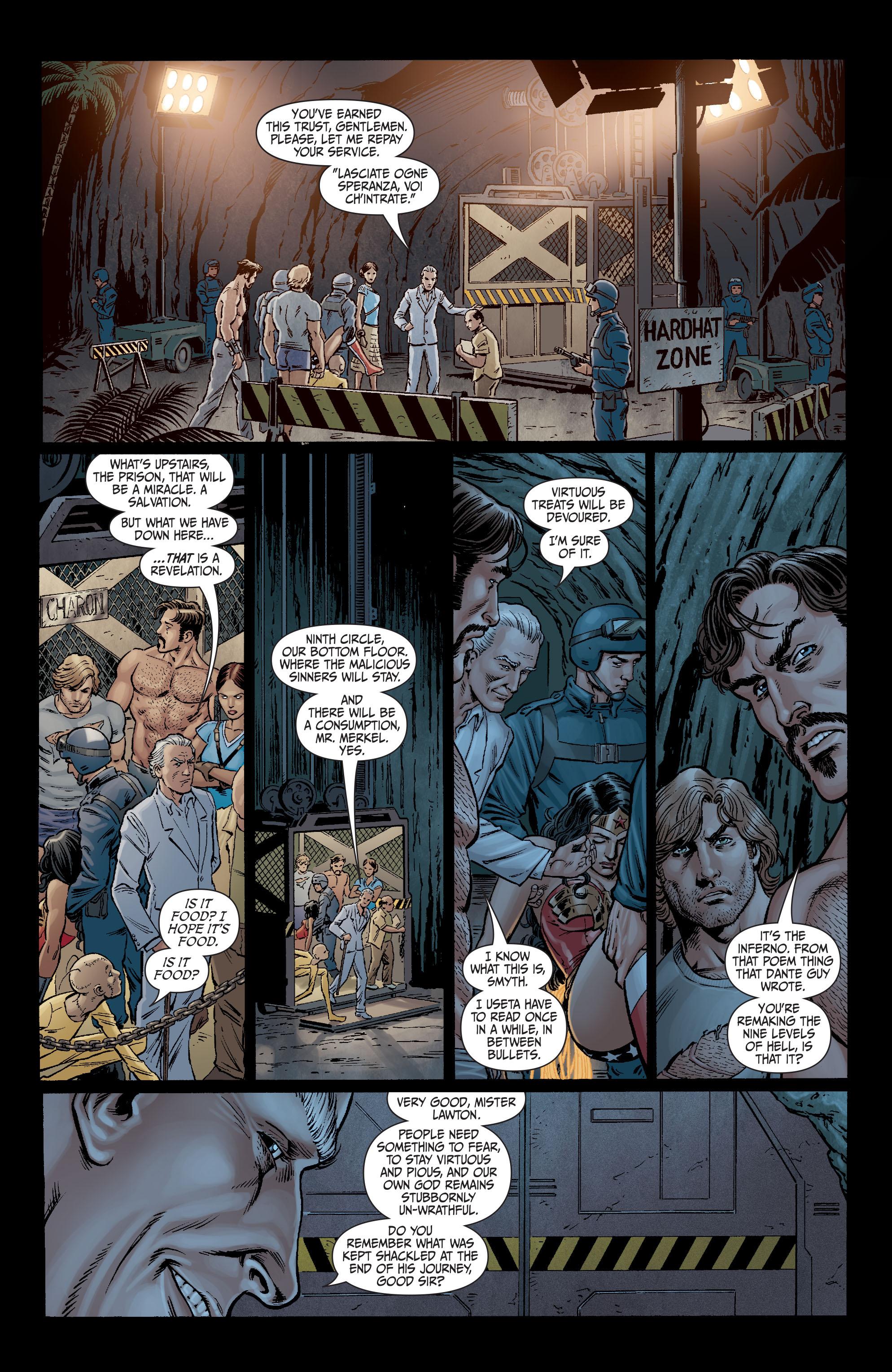 Read online Secret Six (2008) comic -  Issue #12 - 22