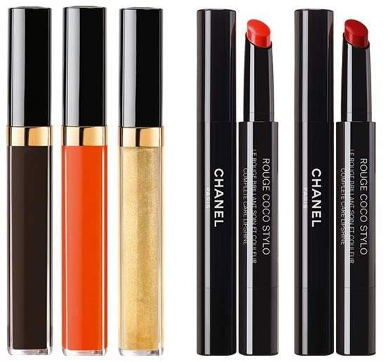 Chanel Rouge Coco Gloss Spring 2017 Makeup Collection
