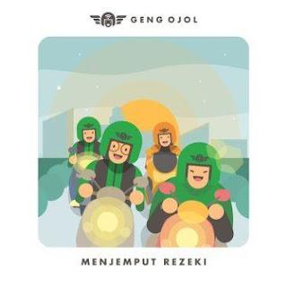 Lirik Lagu Geng Ojol & Eka Gustiwana - Menjemput Rezeki