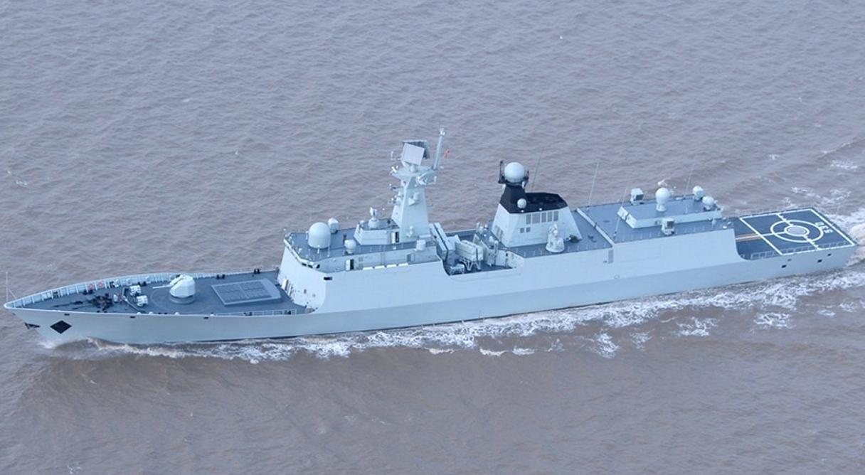 البحرية الجزائرية تتعاقد مع الصين على فرقاطة و غواصة . China_Frigate