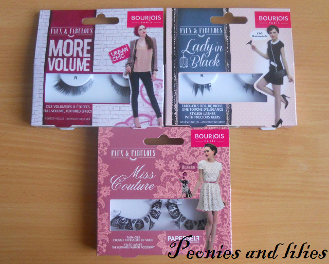 Bourjois, Bourjois faux & fabulous, Bourjois faux & fabulous false eyelashes, Bourjois faux and fabulous smokey eyes false eyelashes, Bourjois faux and fabulous rock chick false eyelashes, Bourjois faux and fabulous more volume false eyelashes, Bourjois faux and fabulous lady in black false eyelashes, Bourjois faux and fabulous miss couture false eyelashes, Bourjois false eyelashes, Bourjois paperself false eyelashes, Paperself lace false eyelashes