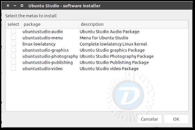 Ubuntu Studio Meta Installer
