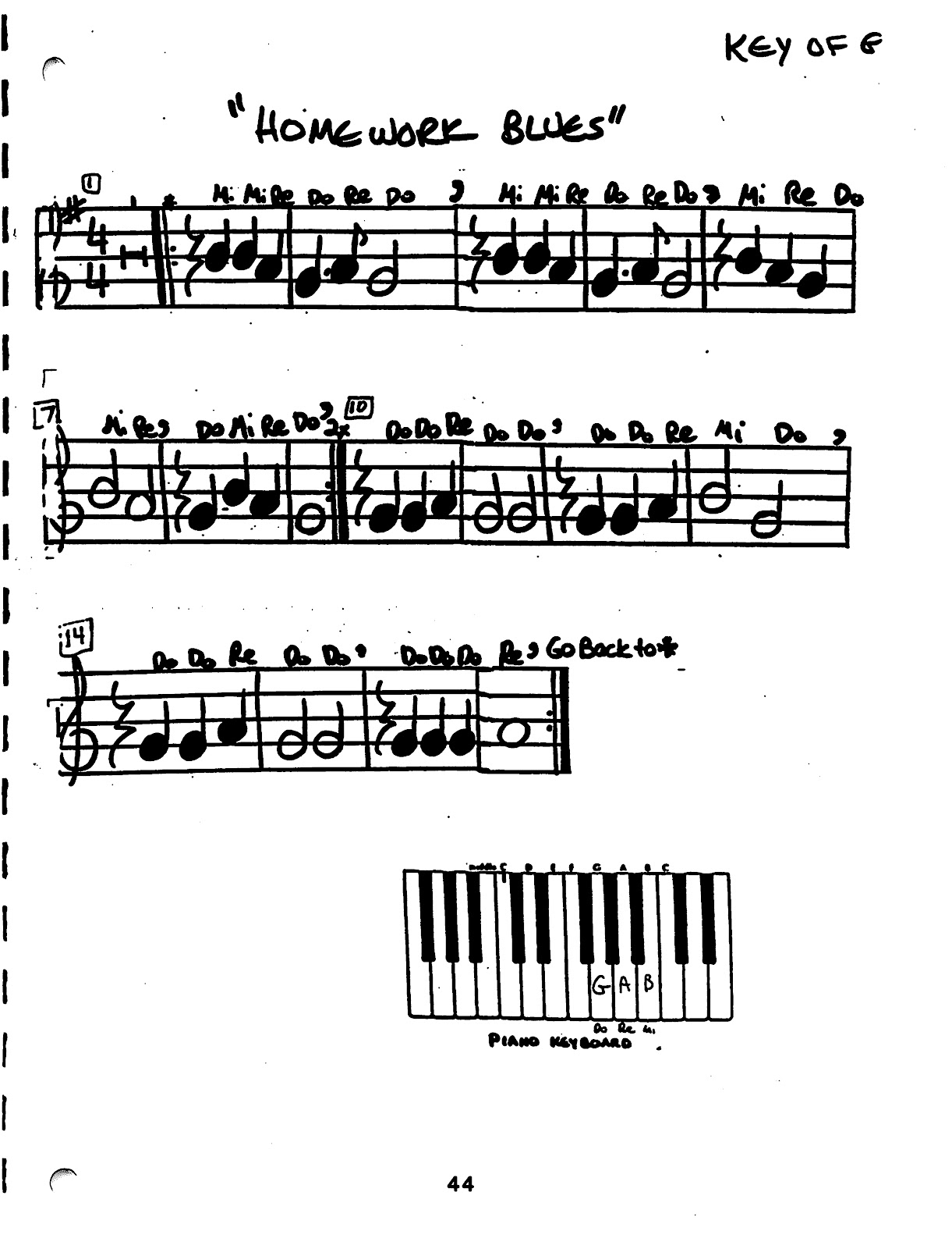 Miss Jacobson's Music: BEGINNING RECORDER PACKET #3