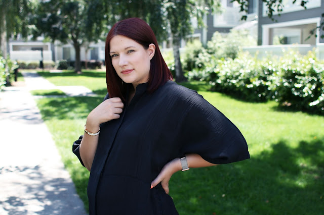 h&m, Kaftan, summer dress, black, Affordable fashion, wiwt, ootd, high street, fashion blogger, maternity fashion