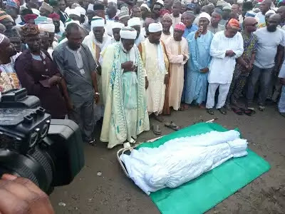 Gov Aregbesola's mother laid to rest in Ilesha (PHOTOS)