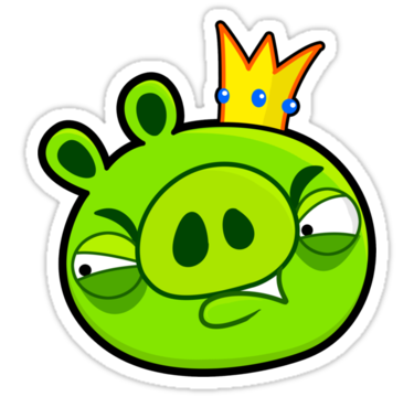 Pig king Angry wallpaper 1