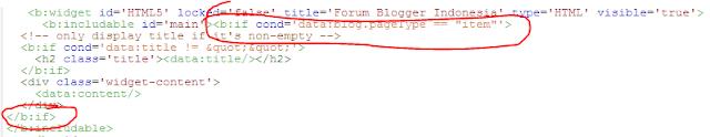 Cara Menyembunyikan dan Menampilkan Widget Tertentu di Blog