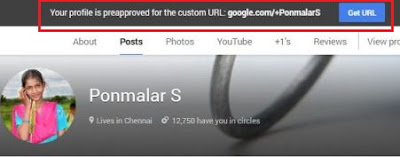 How to Change Custom URL for your Google Plus Profiles / Pages
