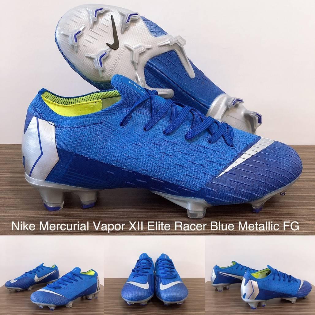 cd6f3adbffa0 HARGA 590.000. Nike Mercurial Vapor XII Elite Racer Blue ...