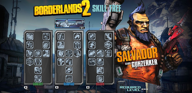 Borderlands 2 Gunzerker Skill Tree