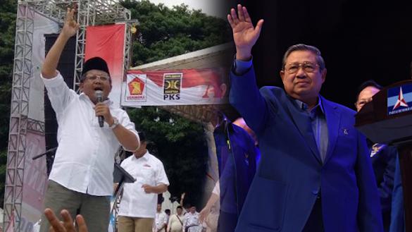 Bertemu SBY, Manuver PKS Dapatkan Cawapres Prabowo?