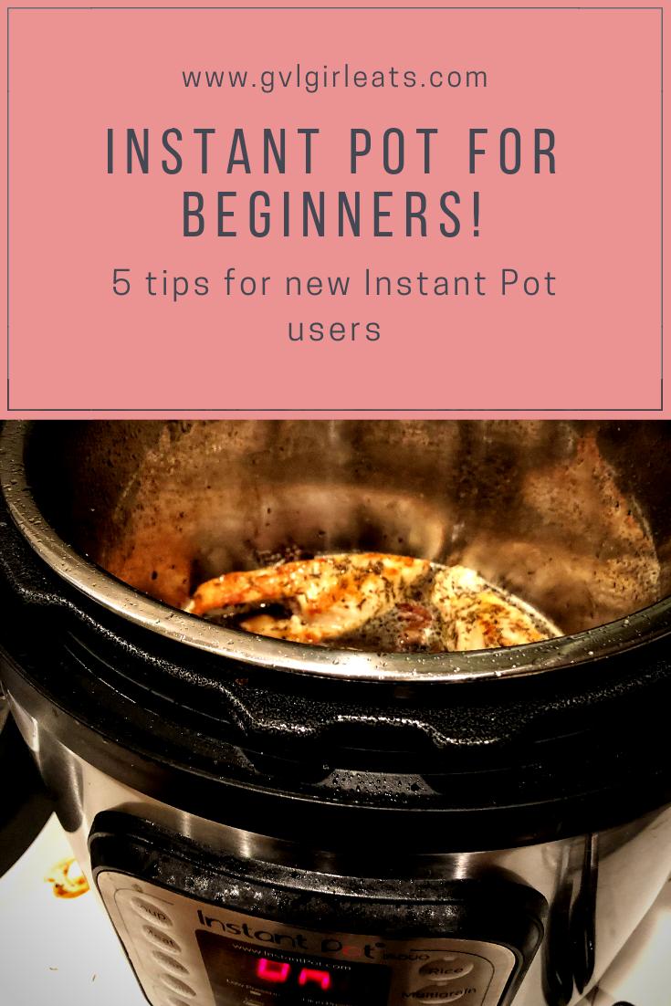 Instant Pot Tips