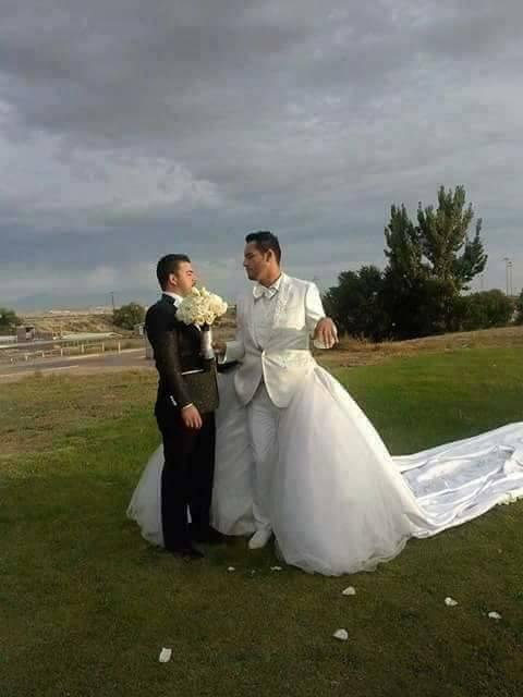 Netizens Slammed Gay Couple For Their Extraordinary Viral Wedding Photos!
