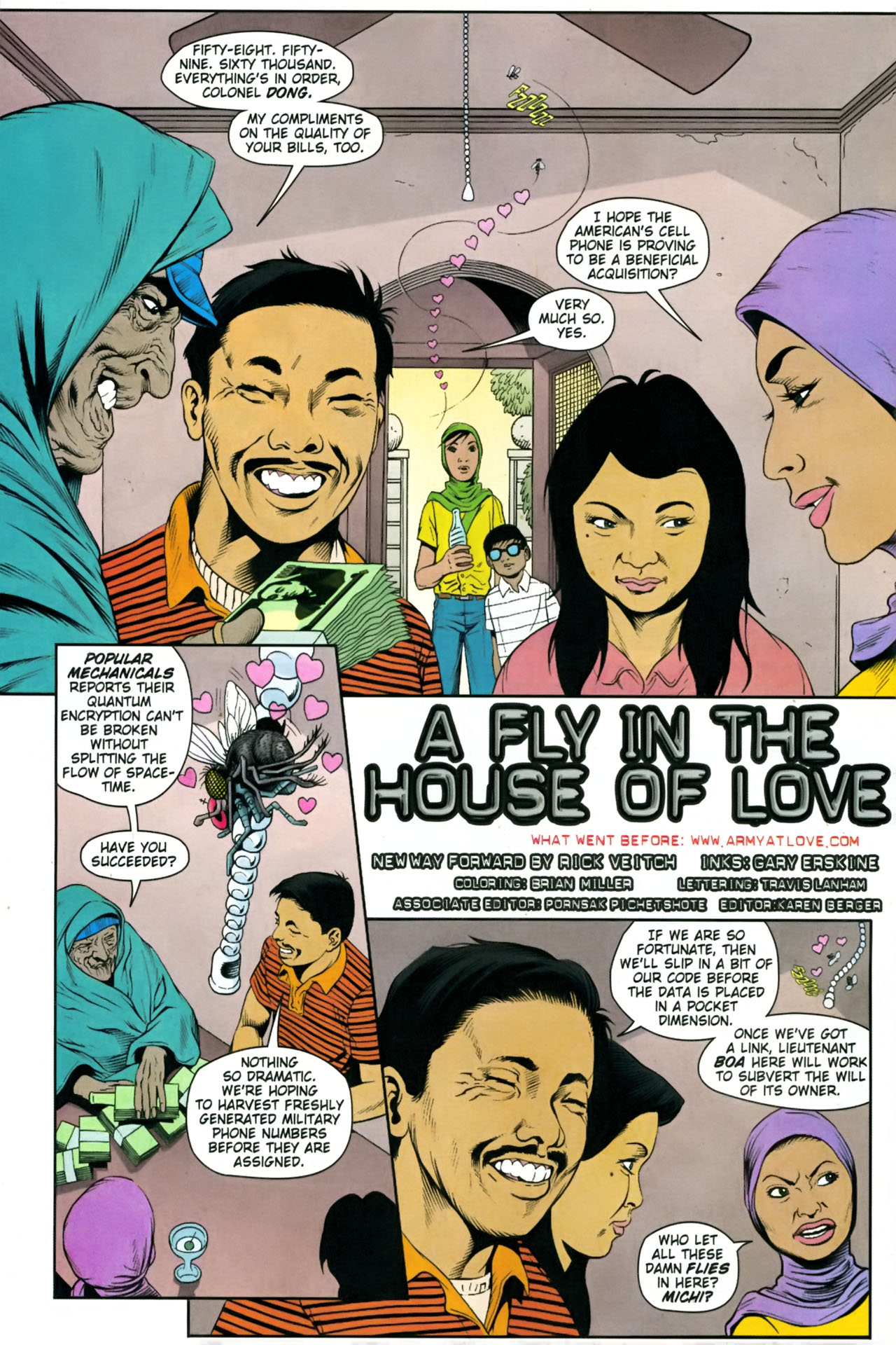 Read online Army @ Love comic -  Issue #8 - 3