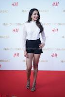 Pragya Jaiswal in lovely Black Mini Skirt and White Transparent Shirt ~  Exclusive 077.JPG