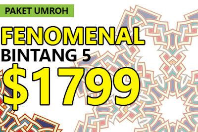 Paket Umroh April 2017 Bintang 5