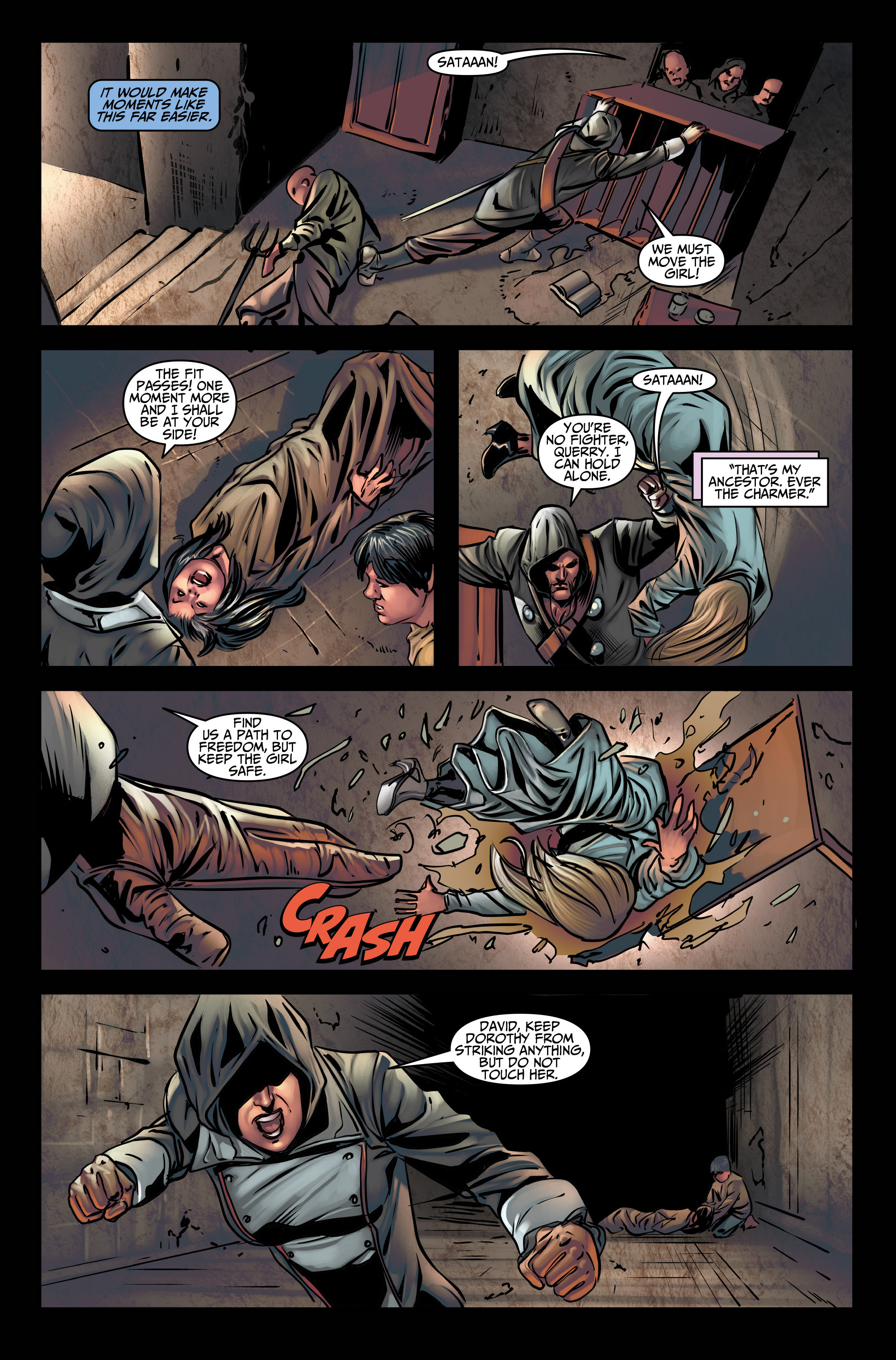 Read online Assassin's Creed (2015) comic -  Issue #3 - 7