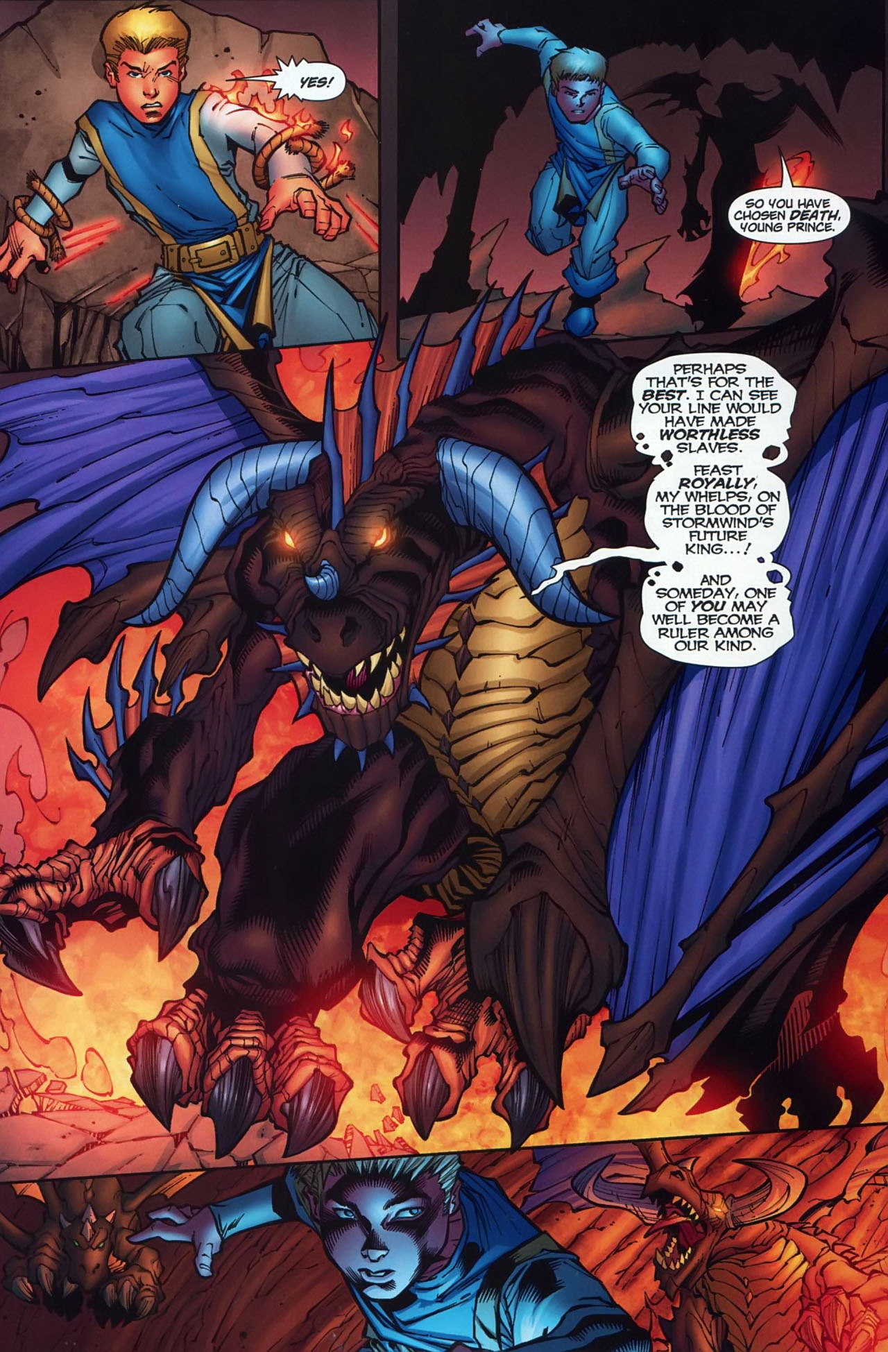 Read online World of Warcraft comic -  Issue #13 - 6