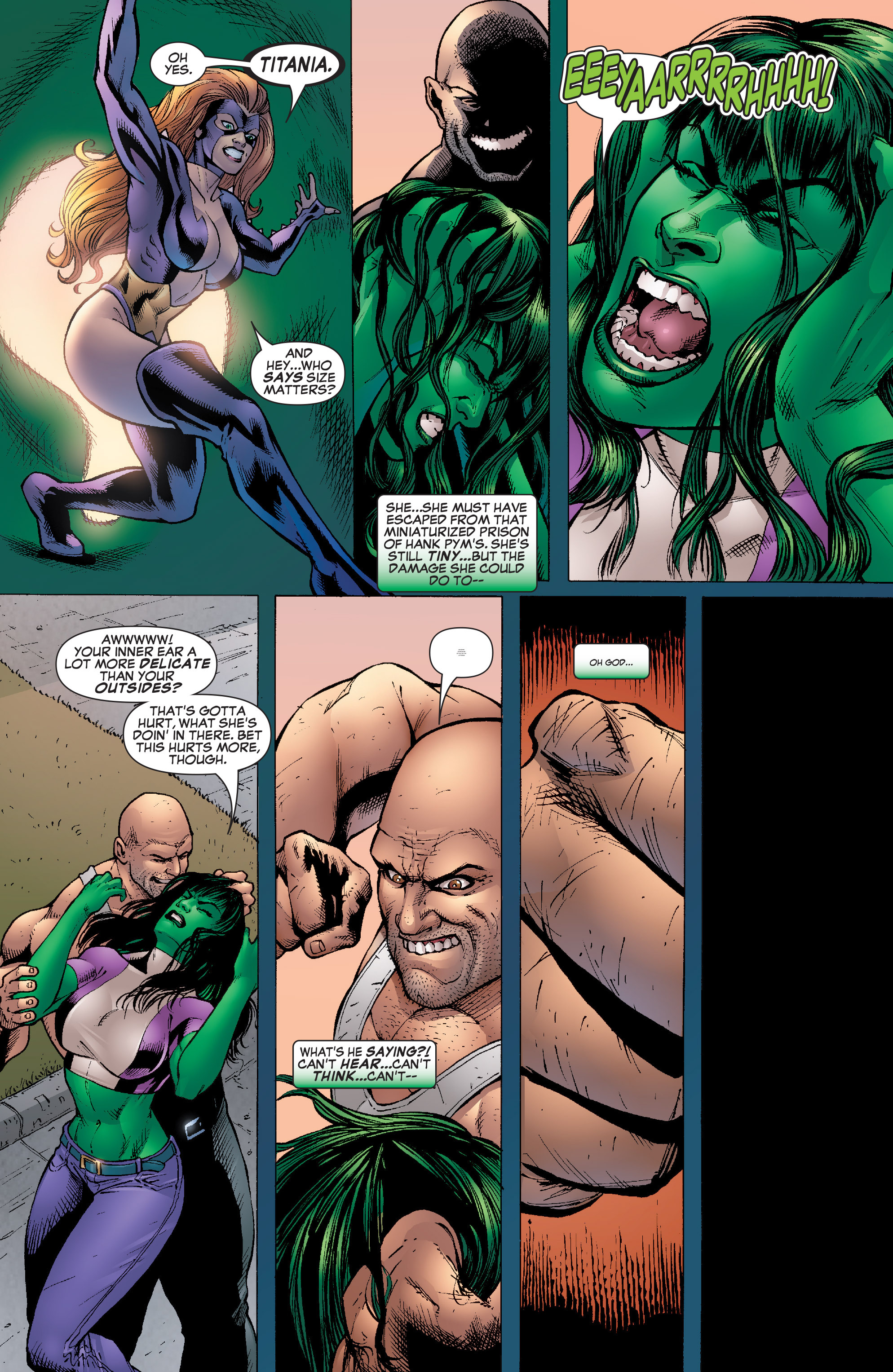 Read online She-Hulk (2005) comic -  Issue #22 - 24