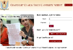 CCS Meerut University PG Registration Again open