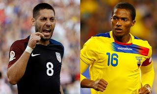 Estados Unidos vs Ecuador en Copa América Centenario