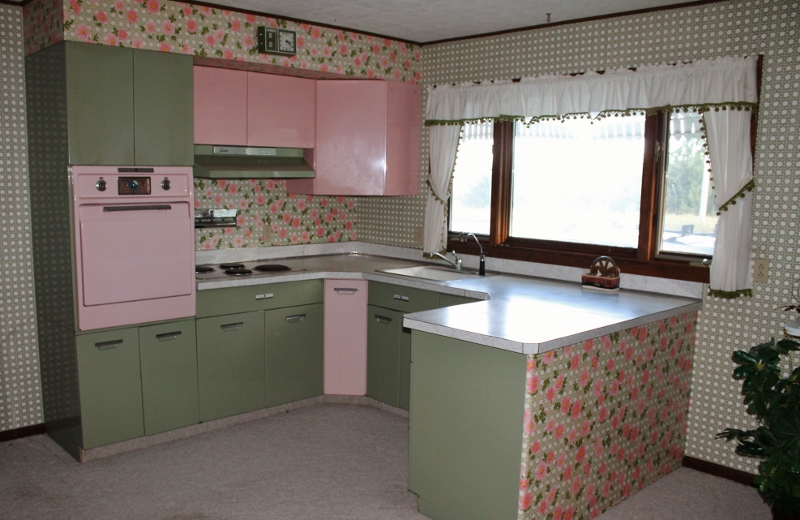 green and pink kitchen designs by amp vintage finds pink and green vintage 3959